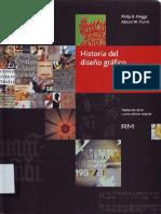 LIVRO - DeSIGN - Historia Del Diseño Gráfico - Philip B. Megs e Alston W. Purvis