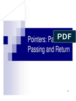 Pointers Parameters Strings