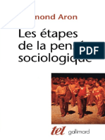 Les Tapes de La Pens e Sociologique