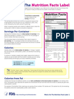Whats on the Nutrition Facts Label