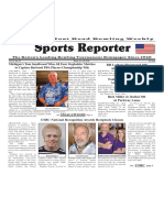 March 14 - 20, 2018  Sports Reporter