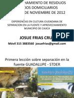 Cajica Separacion en La Fuente Udca 1