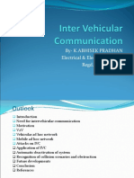 Inter Vehicular Communication.ppt Suprit Seminar