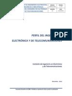 Perfil Profesional Electronica Telecomunicaciones Ciemi