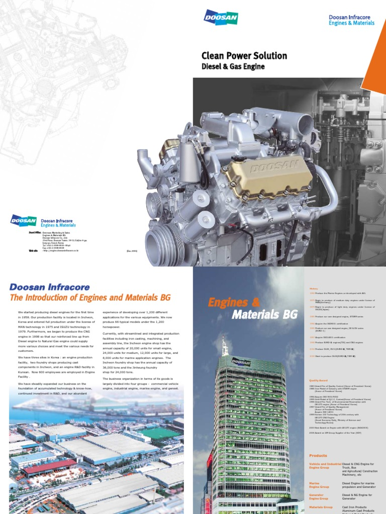 bro_doosan-engine pdf | Diesel Engine | Engines