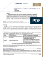 An Overview on Bioequivalence Regulatory Consideration for Generic Drug Pro