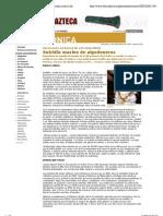 - EL MUNDO | Suplemento Cronica 628 - Suicidio Masivo de Algodoneros