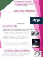 presentación uniones