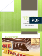 Report on Switzerland