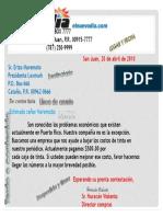 La Carta Comercial II Ejemplo