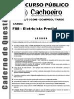 ELETRICISTA PREDIAL 001