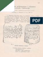 Abramić - O Novim miljokazima i rimskim cestama