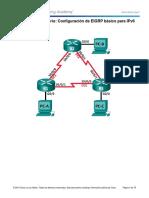7.4.3.5 Configuring Basic EIGRP IPv6
