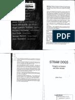 GRAY, John- Straw Dogs