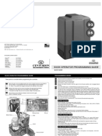 English D3,D5 Quick Programming GuideCS20 0005.D.01.0001 4