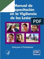 Manual de Capacitación Para La Vigilancia de Las Lesiones
