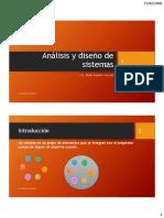 Análisis y Diseño de Sistemas TEMA1 PARTE1