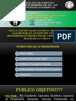 Presentacion Valor Ganado & Cronograma Ganado.pptx