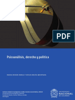Psicoanálisis, derecho y política