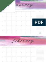 2018 Elli Calendar 1