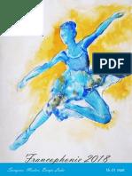 Dani Frankofonije 2018. - Program