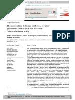 hubungan antara diabetes dan infeksi pada mata