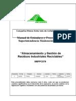 Almacenamiento y Gestión de Residuos Industriales Reciclables