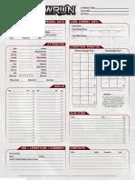 Shadowrun 5e Character Sheet