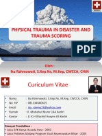 New Physical Trauma in Disaster and Trauma Scoring 28 Jan 2018