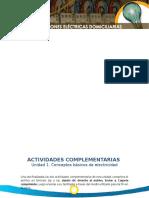 Actividades Complementarias-Instalaciones Eléctricas