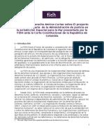 Amicus Colombia Defensores FIDH
