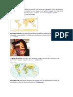 Geografia y Politica