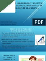 Objetivos y Admon de Operaciones