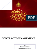 Contract Management Lecture