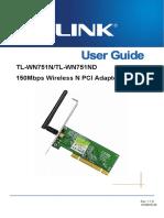 TL-WN751ND(UN) 2.0 & TL-WN751N(UN)1.0 User Guide.pdf