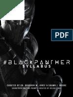 #BlackPantherSyllabus
