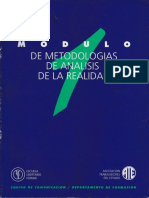 Módulo Metodologías de analisis de la realidad 1990 Nestor Borri