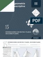 15.- p. Isométrica Secciones a Soportes
