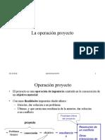 Present Operacion Proyecto