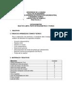 Práctica No.5. Estequiometría (1)