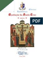 Vésperas da Festa da Exaltação da Santa Cruz