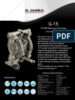 G-15 Metal Pump Flyer GP1117