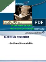 12- Bleeding Disorder