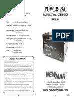 Manual PowerPac 8 12