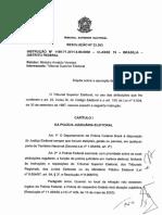 Resolução TSE n.º 23.363_2011 - Dispõe Sobre a Apuração de Crimes Eleitorais