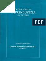 Informe Agroindustria Peru