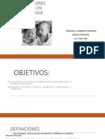 1 Consideraciones Generales en Perinatología