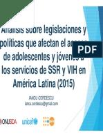 Barreras Legales I.cordESCU