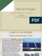 Tipos de Energías