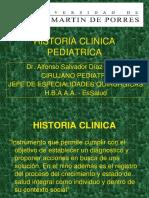 1 Historia Clínica en Pediatría